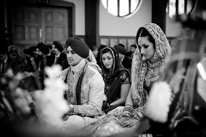 Sikh wedding ceremony