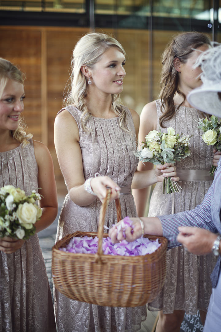 Utopia wedding confetti shot
