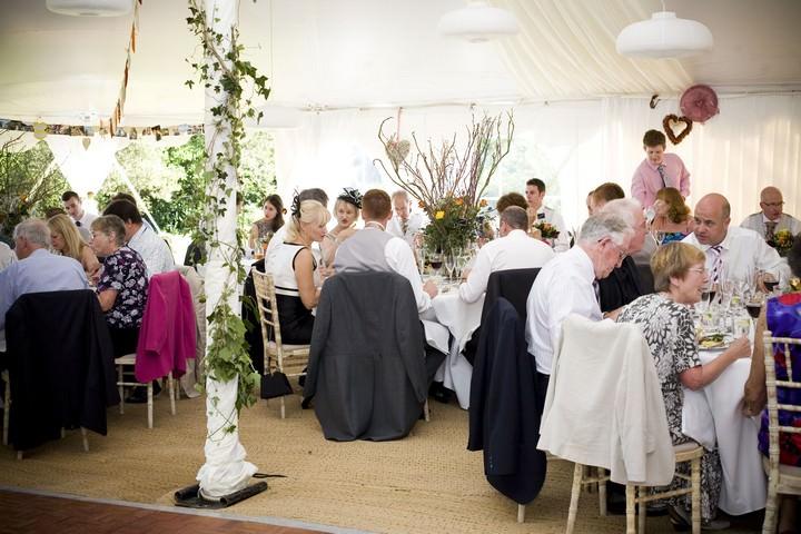 English Garden Party Wedding