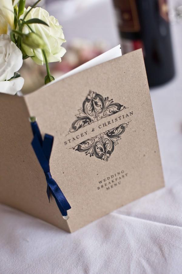 Ibiza wedding menu