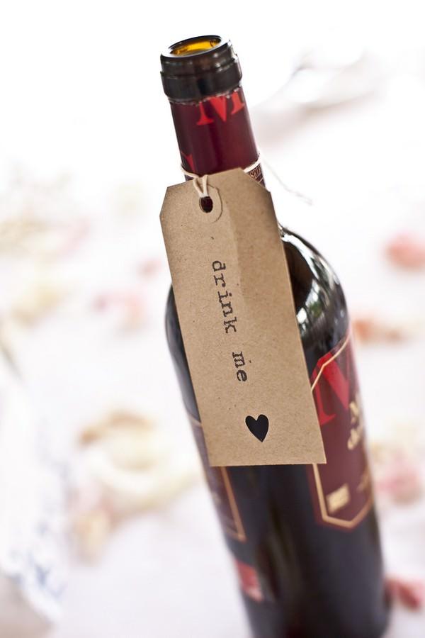wine bottle - drink me