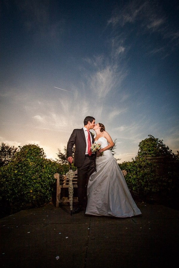bride and groom at a Clitheroe wedding