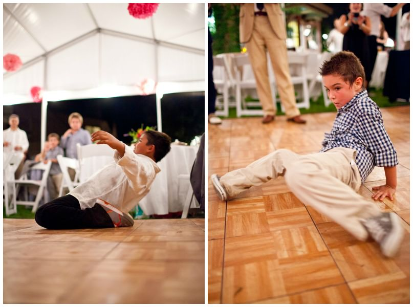 dancing at an Ohio wedding reception
