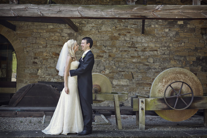Skipton wedding couple