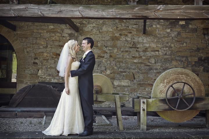 Skipton wedding couple