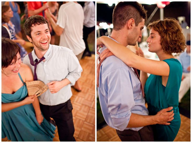 dancing at an Ohio wedding reception