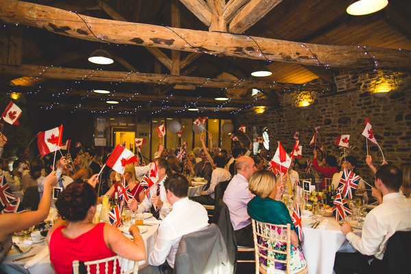 wedding breakfast at woodlane countryside centre