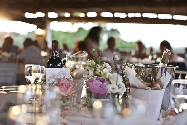 Can Gall Ibiza wedding reception