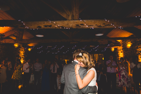 first dance at rustic Sheffield wedding