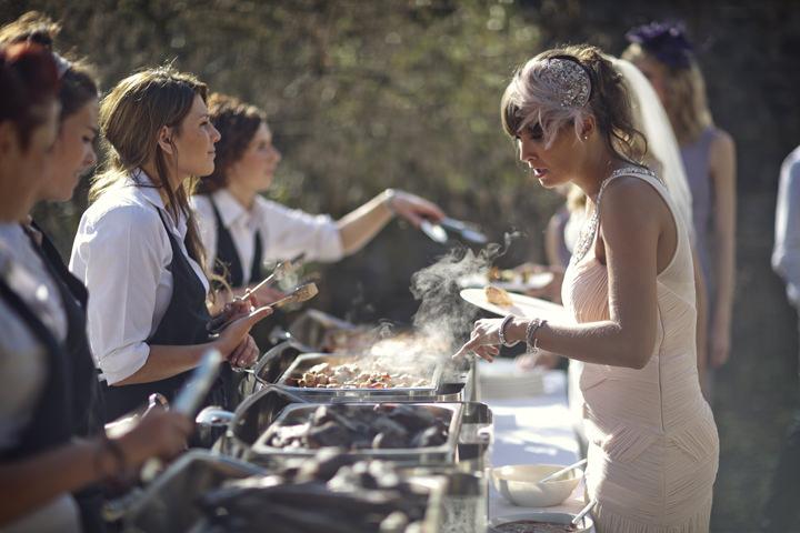 wedding breakfast BBQ