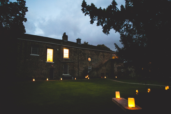 night time at woodlane countryside centre