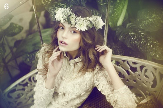 statement flower crowns