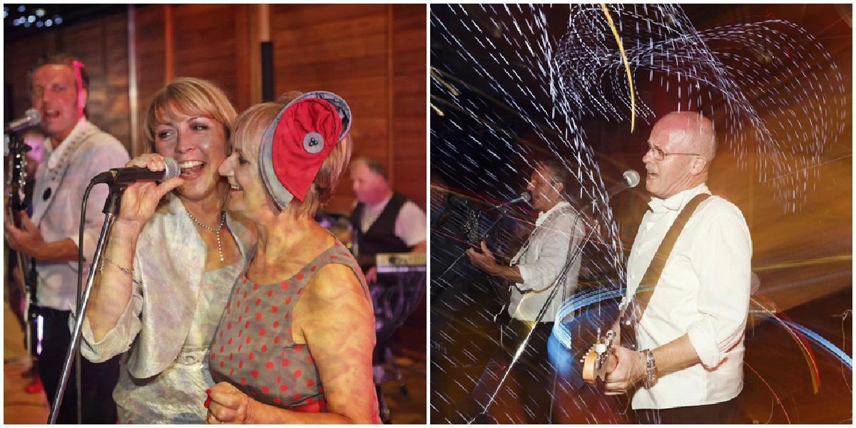 dancing at utopia wedding reception
