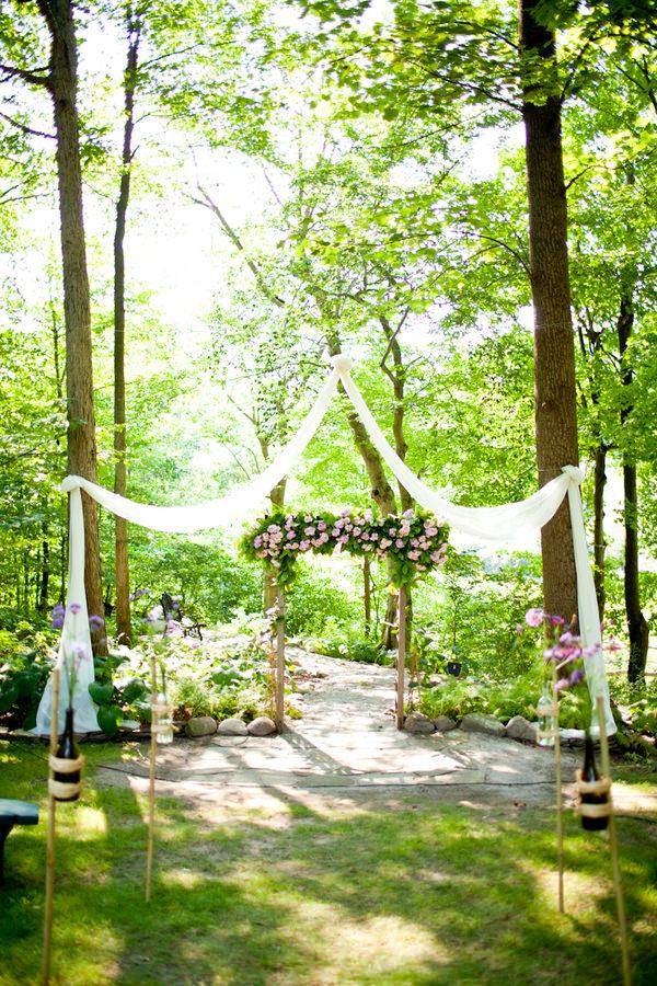 Ohio Outdoor Wedding Ceremony