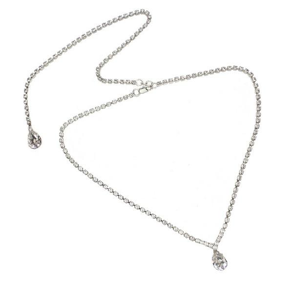 Grace Back drop Necklace - £75