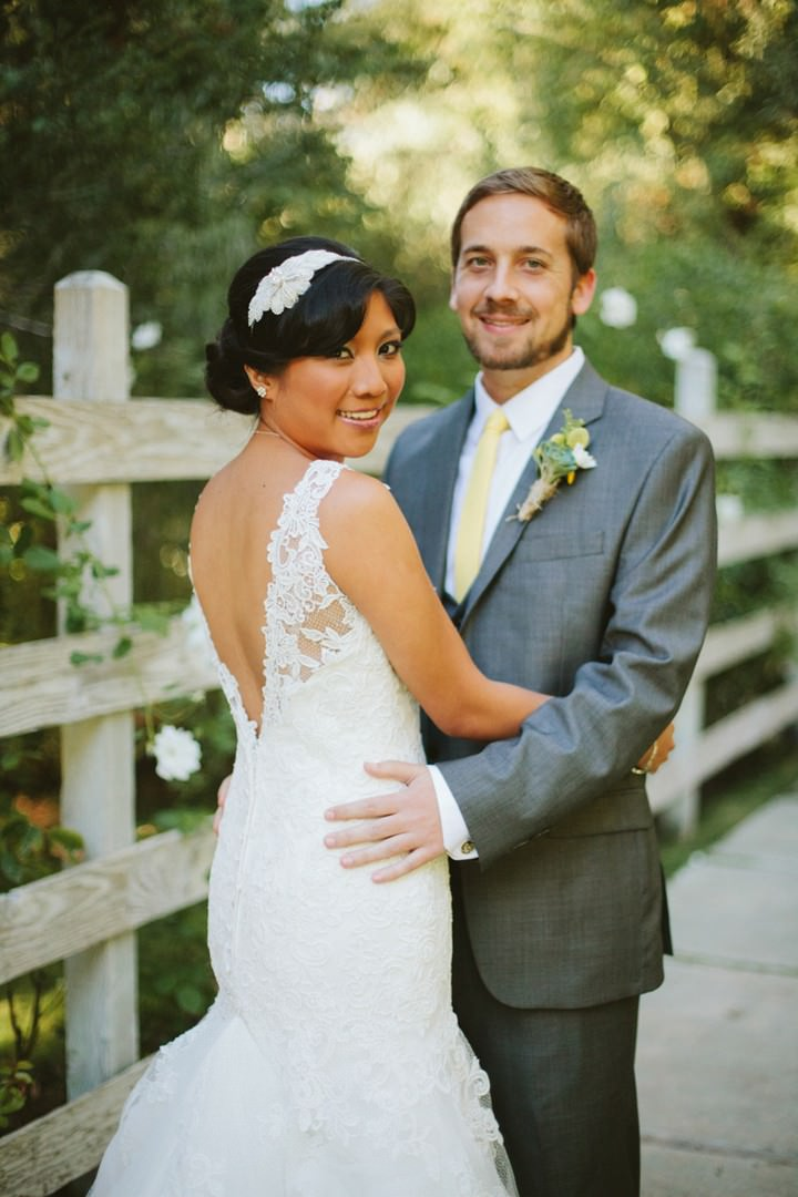 Malibu wedding couple