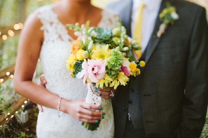 Malibu wedding couple