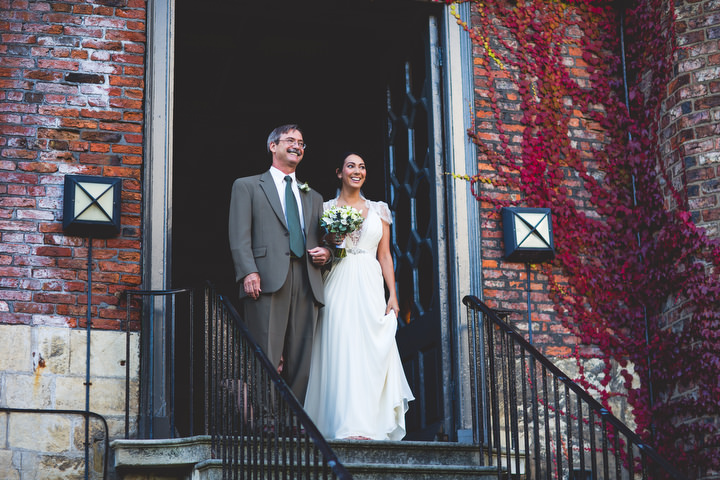 Greys court outdoor wedding ceremony