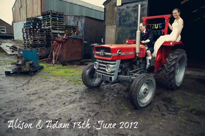 Rainy Farm Wedding