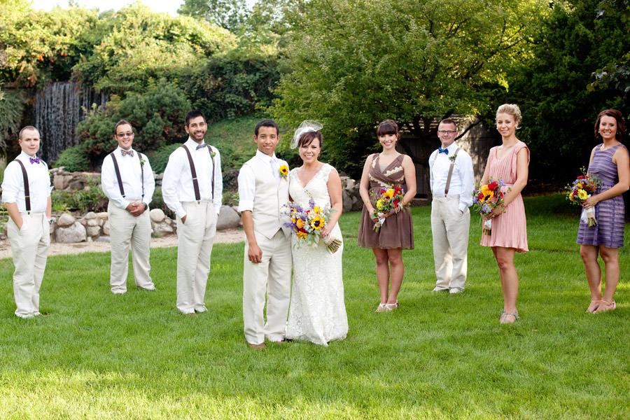 Illinois outdoor wedding