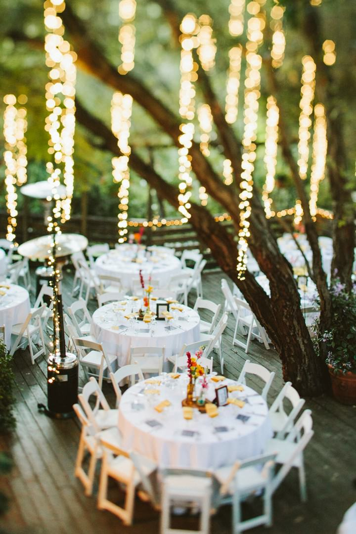 Calamigos Ranch outdoor wedding reception