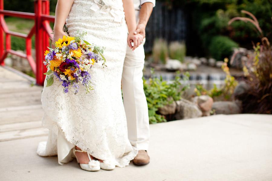 Illinois wedding couple