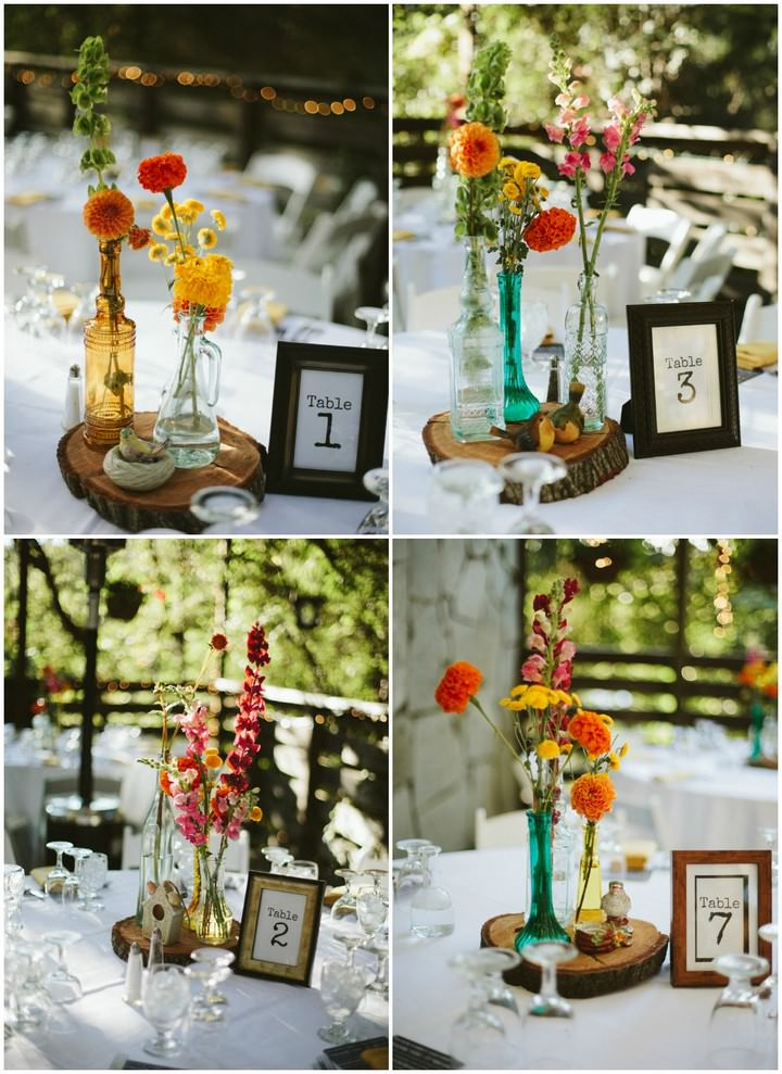 rustic table decoartion