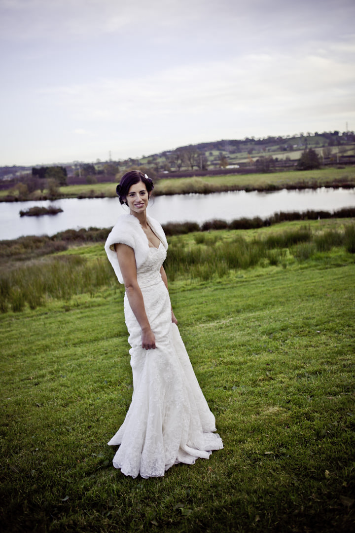 Stafford shire wedding couple