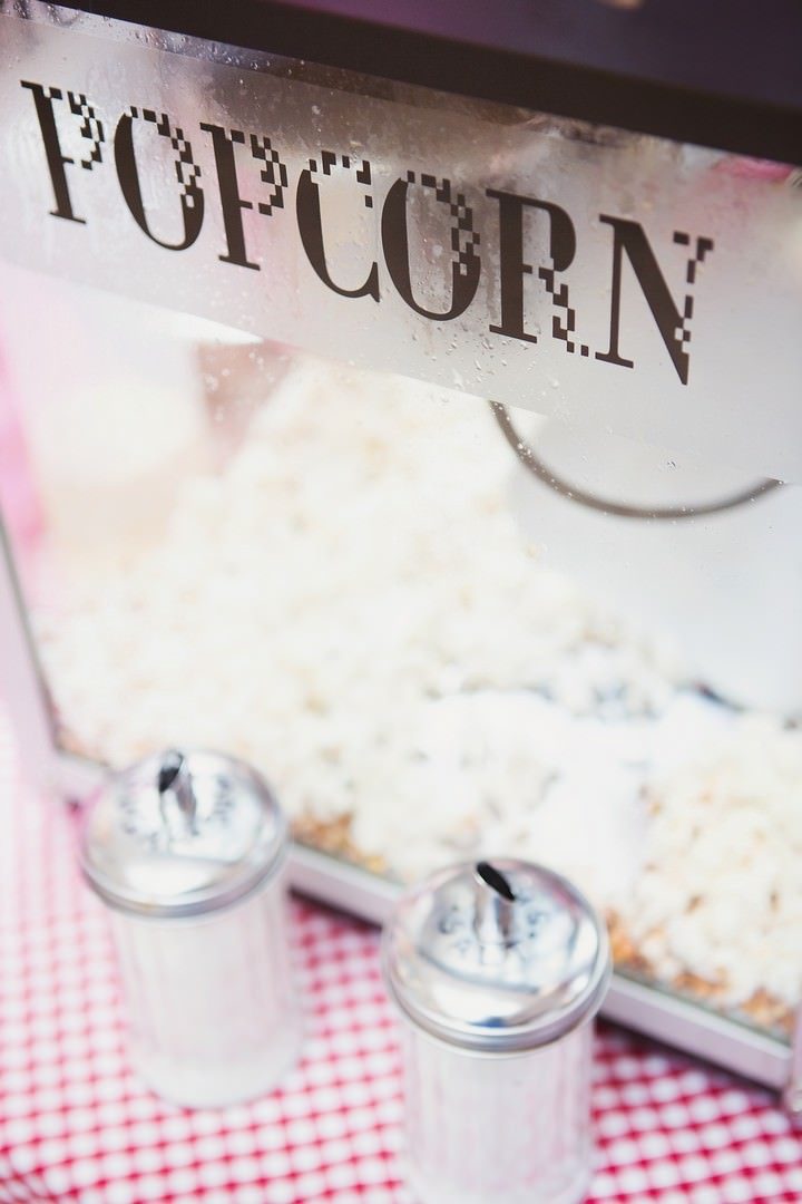 wedding popcorn from The Candy Queens