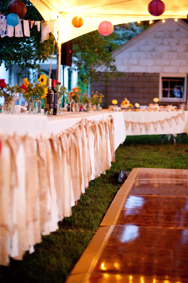 Illinois wedding reception