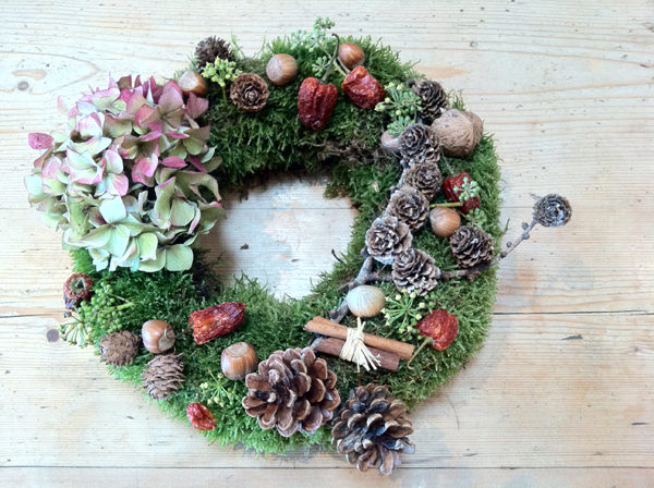 Christmas Table Wreath