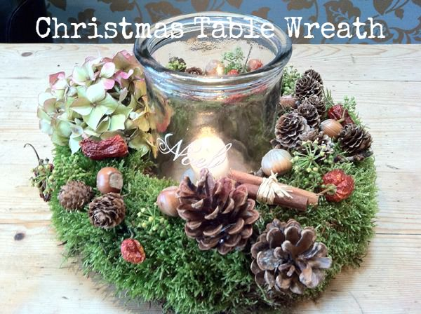 Christmas Table Wreath