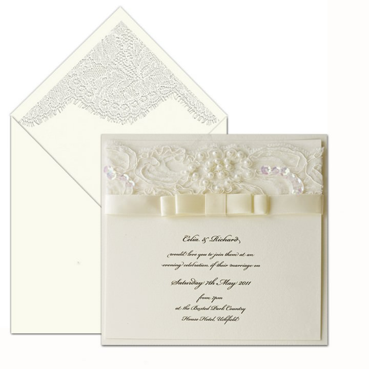 Vintage Rose - wedding stationery