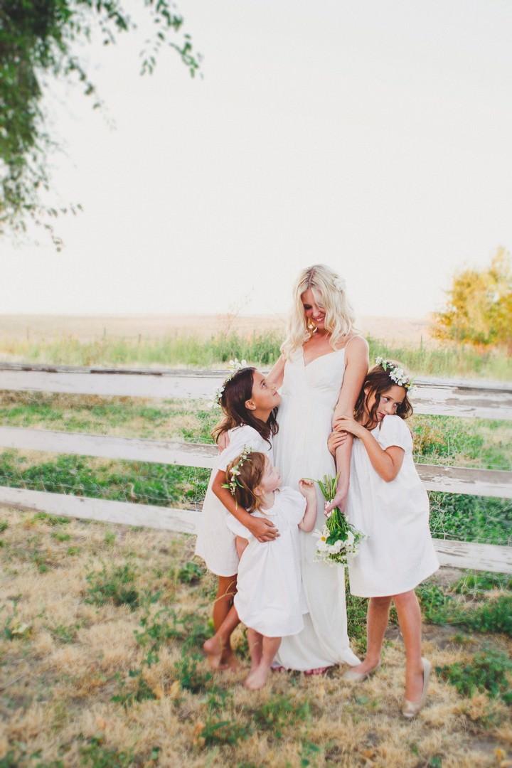 Lindsay and Cody's Boho Style Wedding by Melissa McFadden