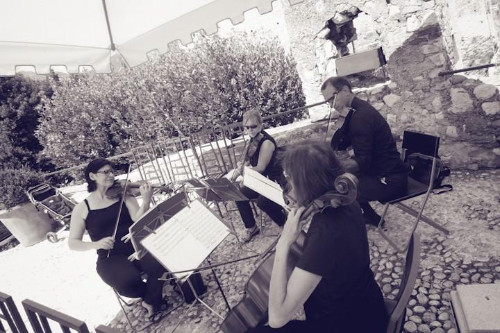 wedding ceremony at Malcesine, Lake Garda