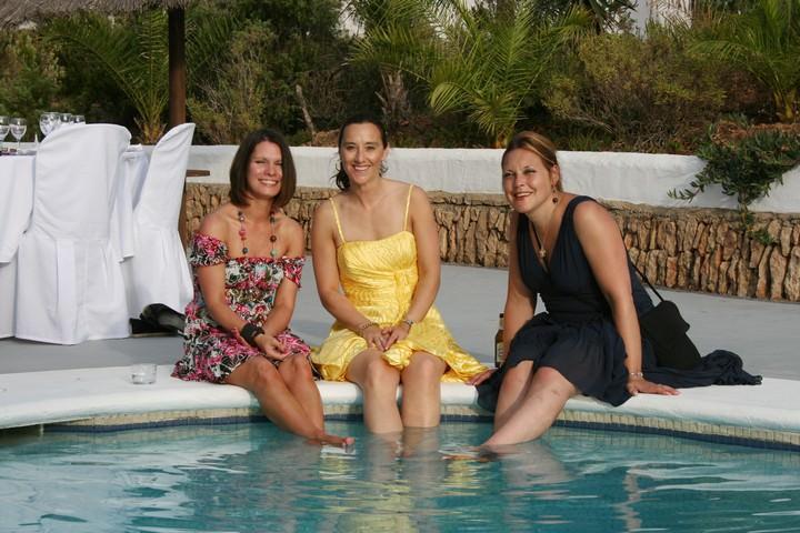 Ibiza wedding guests