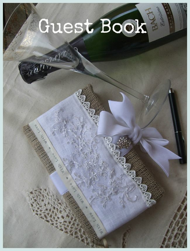 DIY Tutorial - Guest Book