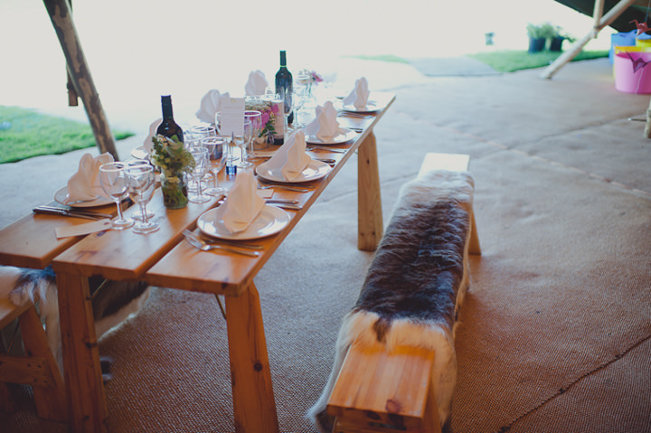 Tip wedding reception table layout