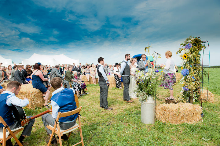 festival vibe farm wedding