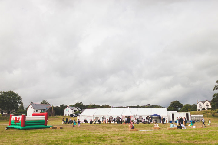 welsh marquee reception at Talybont, Ceredigion