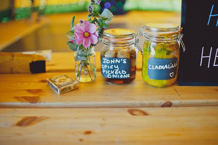 homemade pickle