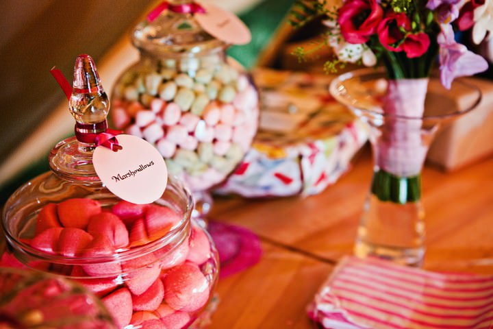 Tipi Wedding Reception