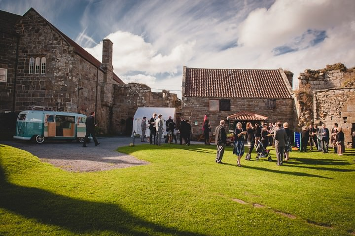 wedding reception at danby castle