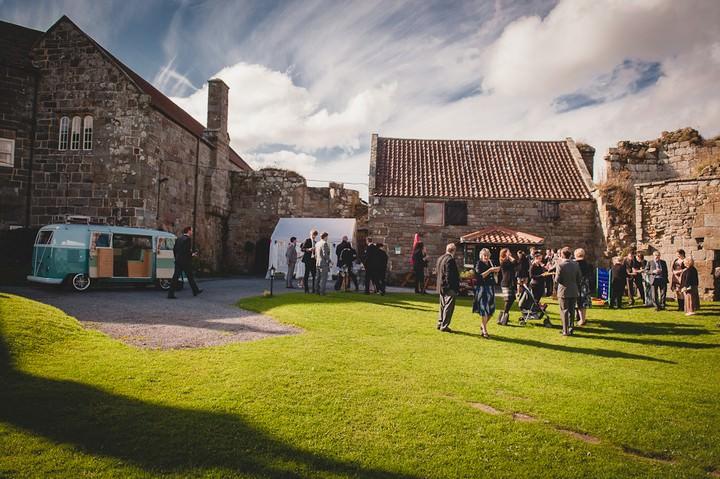 wedding reception at danby castle