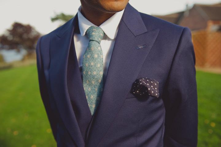 bespoke Reiss suit