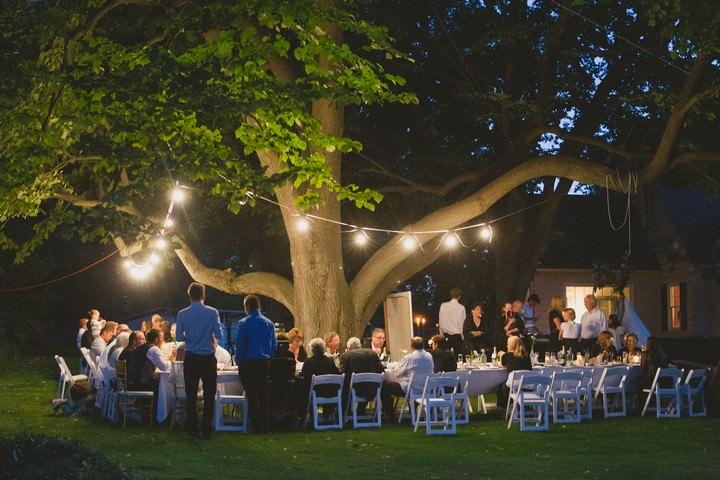 simple outdoor wedding in washington