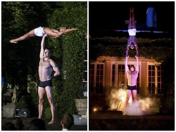 Cirque De Soleil Acrobats