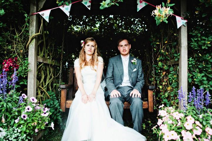 Hertfordshire wedding couple