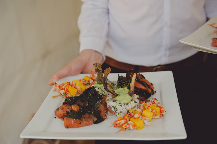 wedding food by Jimmy Garcia, South West Supper Clubs