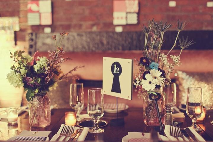 MyMoon Restaurant in Brooklyn wedding reception details